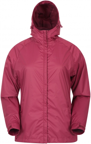 Mountain Warehouse Torrent Womens Waterproof - Red Jacket