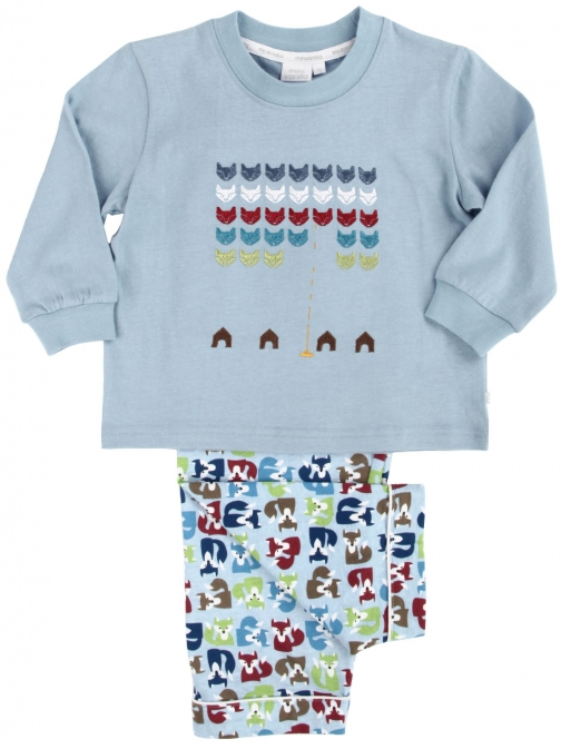 House Of Fraser Mini Vanilla Boys Invaders Pyjama