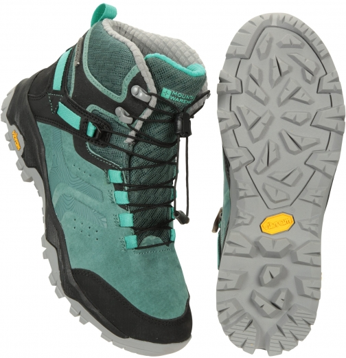 Mountain Warehouse Ultra Geneva Vibram Womens Waterproof - Dark Grey Boot