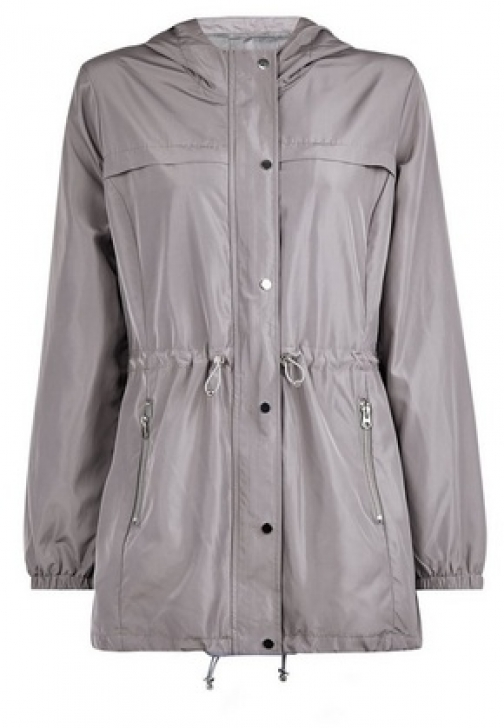 Dorothy Perkins Grey Showerproof Jacket