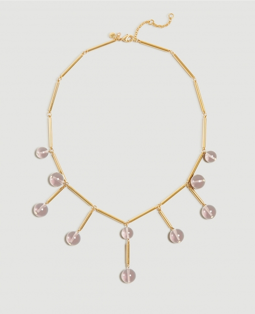 Ann Taylor Glass Beaded Necklace