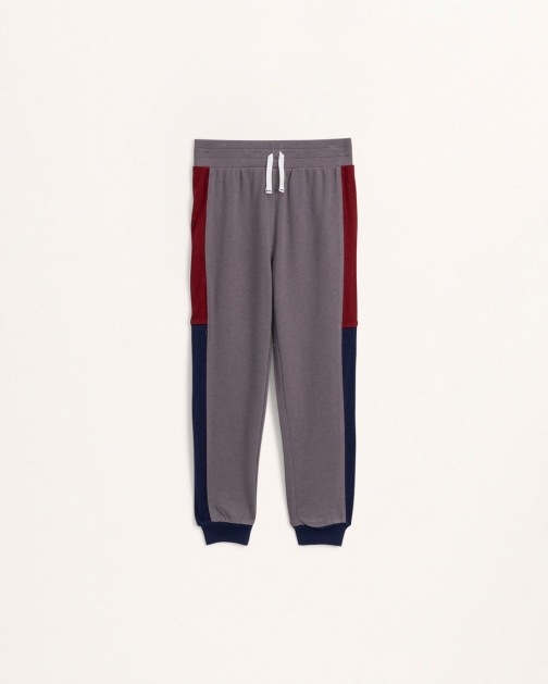 Splendid Youth Boys Little Boy Tri Color Smoked Pearl - Size 7 Jogger