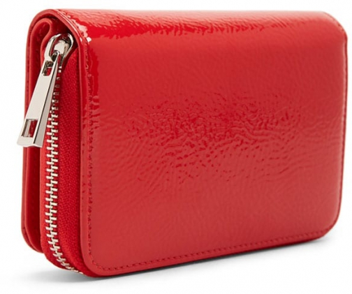 Forever21 Forever 21 Faux Patent Leather Red Wallet