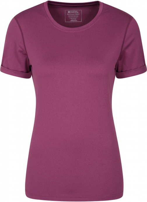 Mountain Warehouse Breeze Recycled Womens - Pink T-Shirt