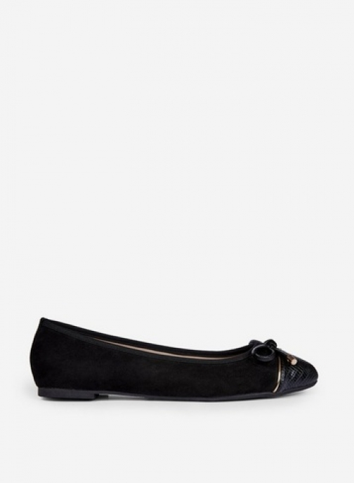 Dorothy Perkins Wide Fit Black 'Pisa' Pumps