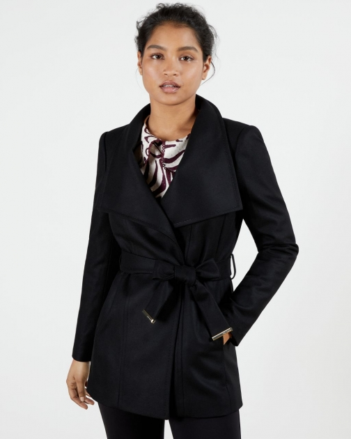 Ted Baker Short Wrap Coat Jacket