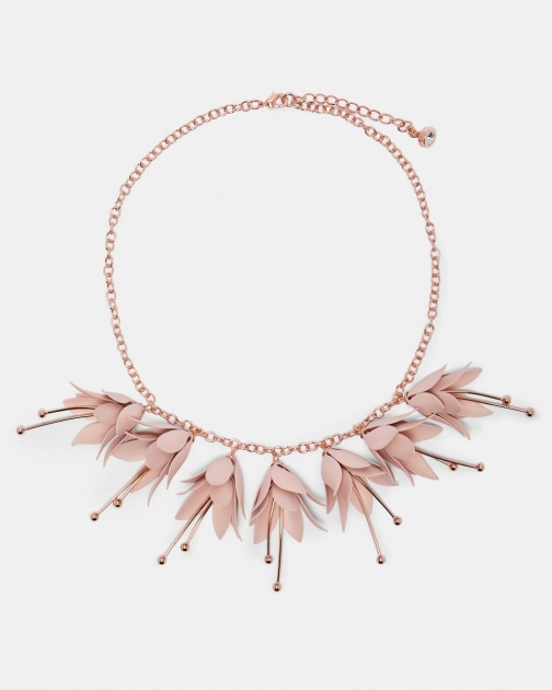 Ted Baker Fuchsia Drop Necklace