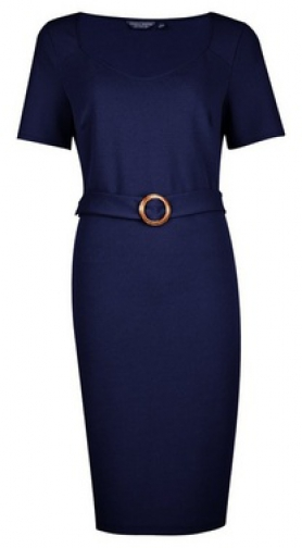 Dorothy Perkins Tall Navy D- Shift Dres Ring