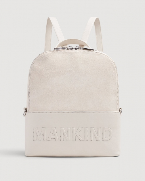 7 For All Mankind Mankind Winter White Backpack