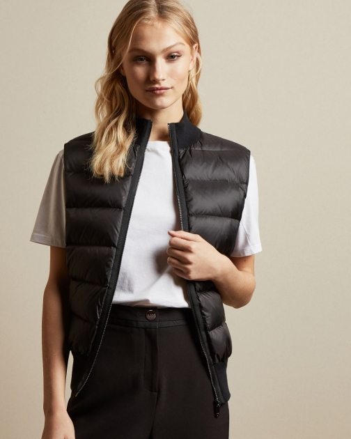 Ted Baker Sleeveless Padded Front Gilet