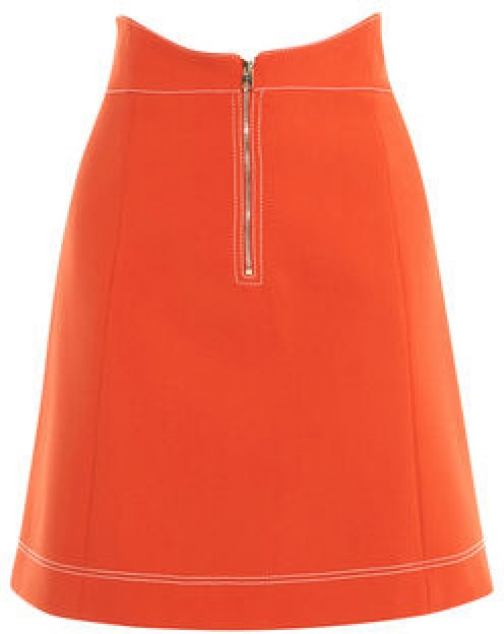 Karen Millen Contrast Stitch Mini Skirt