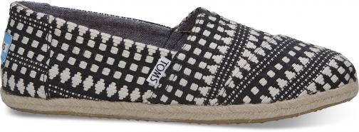 Toms TOMS Black Diamond Women's Espadrilles Shoes - Size UK6 / US8 Espadrille