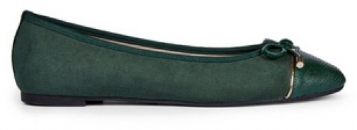 Dorothy Perkins Green 'Pisa' Pumps Ballerina