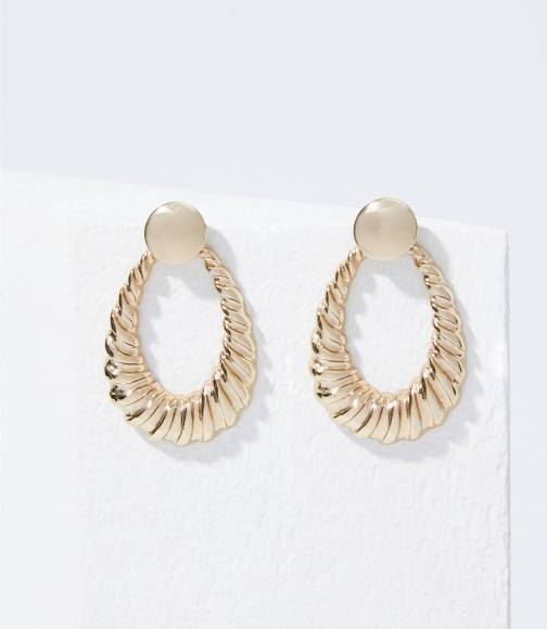 Loft Textured Drop Earring