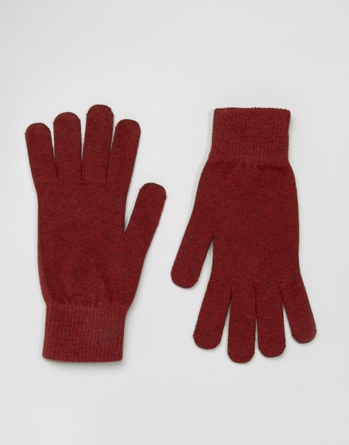 Selected Homme Leth Glove