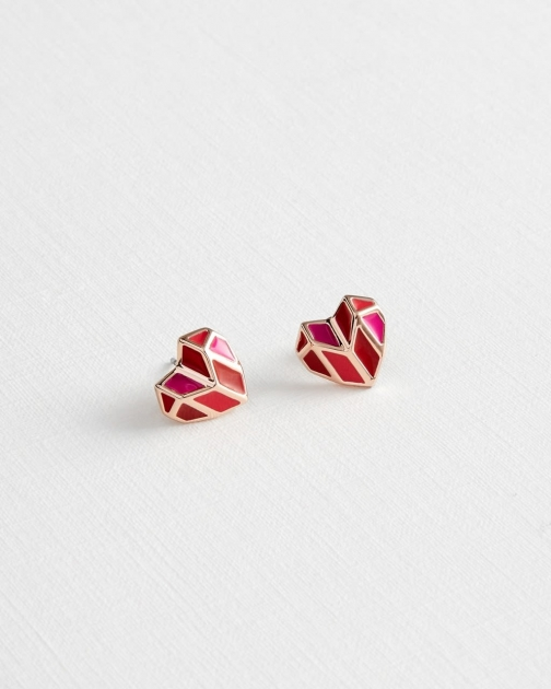 Ted Baker Heart Stud Earring