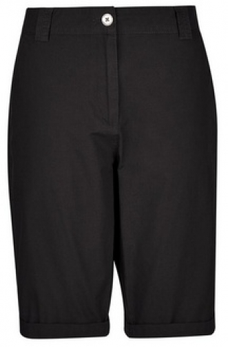 Dorothy Perkins Black Knee Short
