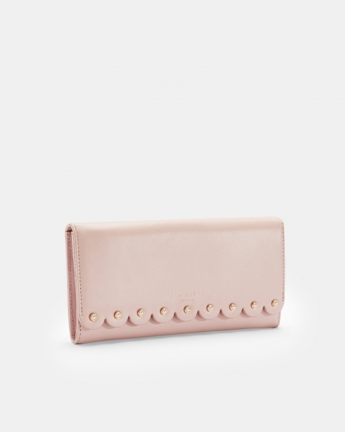 Ted Baker Scallop Leather Matinee Purse