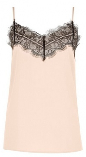 Dorothy Perkins Champagne Lace Camisole Top