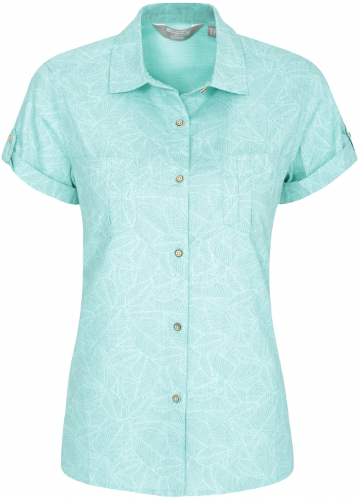 Mountain Warehouse Coconut Womens Short Sleeve - Green Shirt