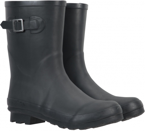 Mountain Warehouse Womens Mid-Height Rubber - Black Welly