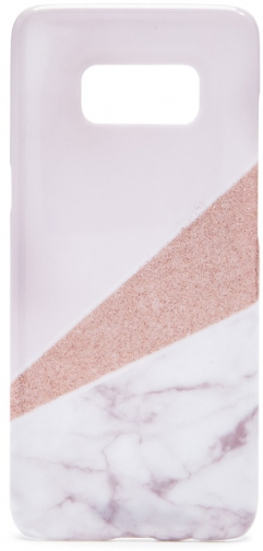 Forever21 Forever 21 Pattern Block For Galaxy S8 Phone Pink Case