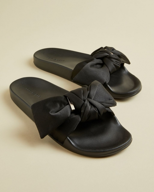 Ted Baker Satin Bow Detail Slider