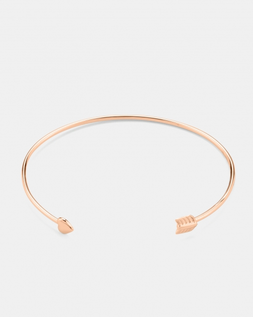 Ted Baker Cupid Arrow Heart Cuff Bracelet