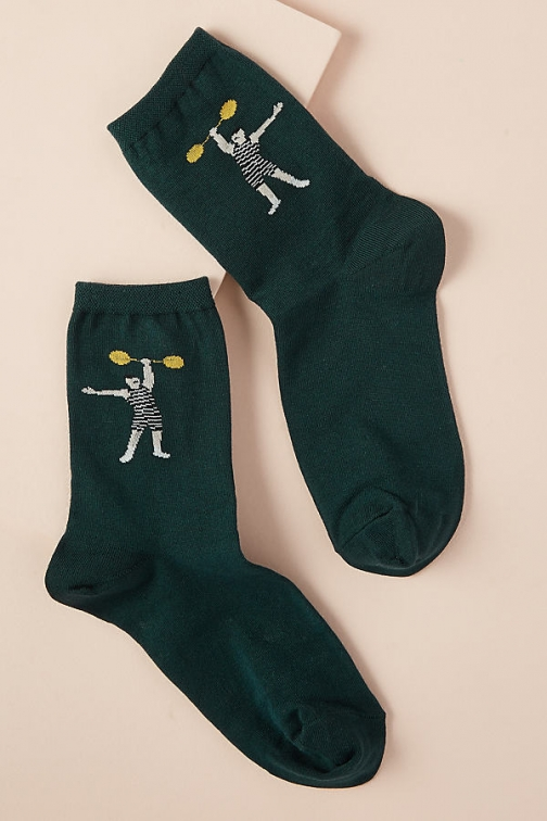 Hansel From Basel Printed Ankle Sock