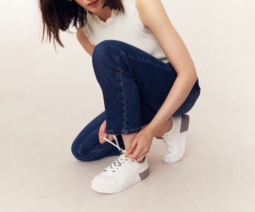 Oasis Jessie Lace Up Trainer