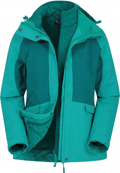 Mountain Warehouse Thunderstorm 3--1 Womens - Green Jacket