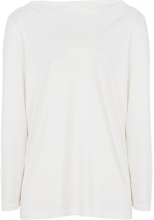 Reiss Marilyn - Straight-neck Top Off White, Womens, Size L Shirt