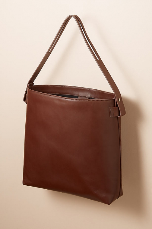 Anthropologie Candis Leather Tote