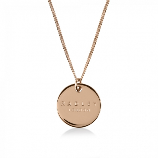Radley Broad Street Rose Gold Necklace