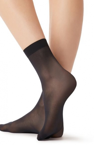 Calzedonia 15 Denier Long-lasting Woman Blue Size TU Sock