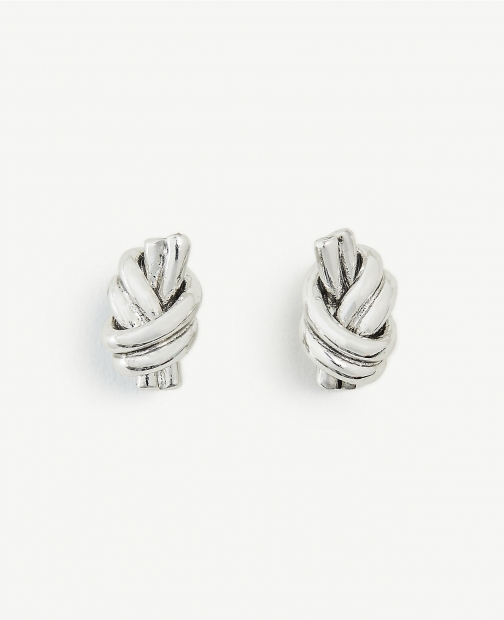 Ann Taylor Twisted Knot Stud Earring