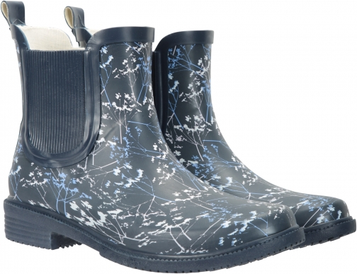 Mountain Warehouse Women's Printed Rubber Ankle - Blue Welly