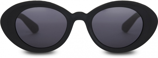 Toms Traveler By TOMS Rossio Matte Black With Dark Grey Lens Sunglasses
