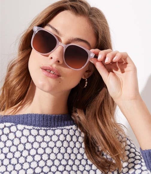 Loft Modern Square Sunglasses