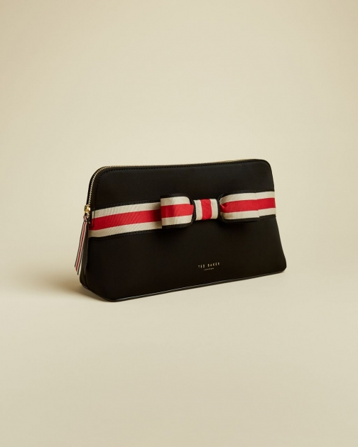 Ted Baker Branded Webbing Neoprene Wash Bag