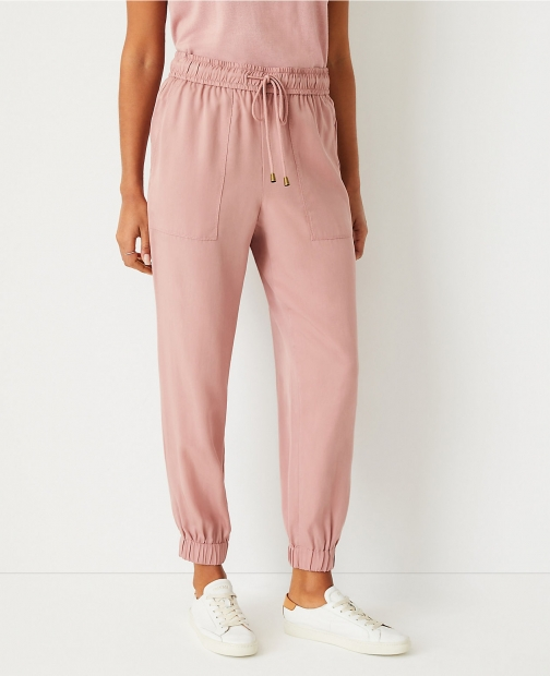 Ann Taylor The Petite Pull On Pant Jogger