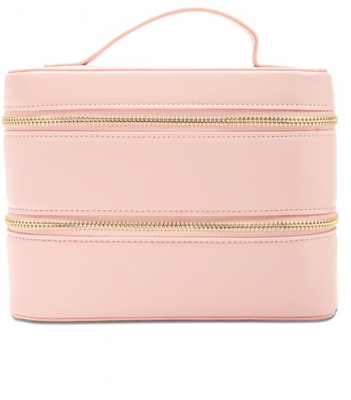 Forever21 Forever 21 Double-Zip Train , Pink Case