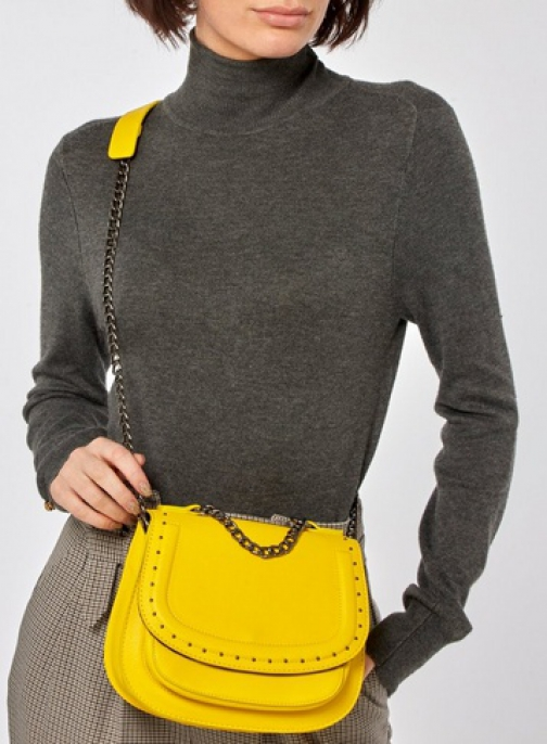 Pieces Lemon 'Belle' Cross Body Bag Crossbody Bag