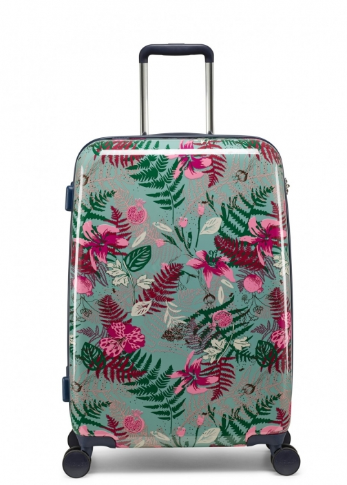 Radley Botanical Floral Medium Four Wheel Suitcase