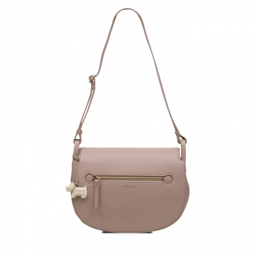 Oasis London Camley Street Medium Flapover Shoulder Bag