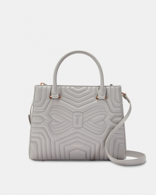 Ted Baker Quilted Bow Leather Bag Tote