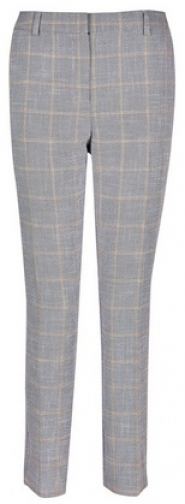 Dorothy Perkins Check Print Ankle Grazer Trousers Trouser