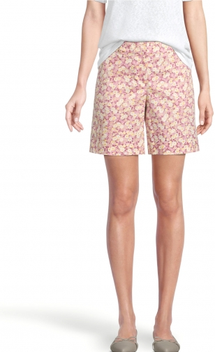 Ann Taylor Factory Floral Twill With 6 Inch Inseam Short