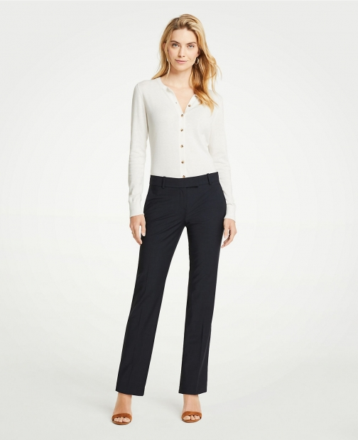 Ann Taylor The Tall Straight Pant Tropical Wool Suit