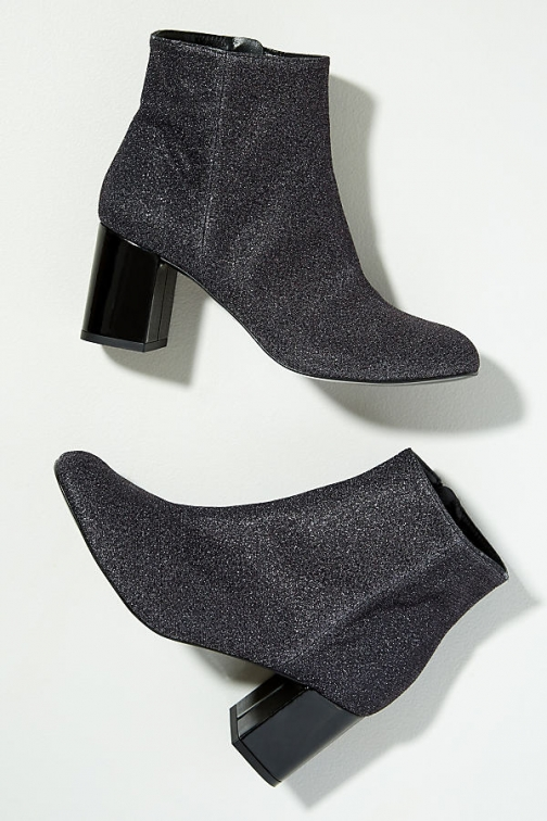 Anthropologie Sabrina Glittery Ankle Boot